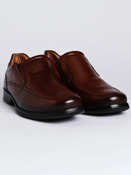 Sapato Casual Masculino Pegada Marrom