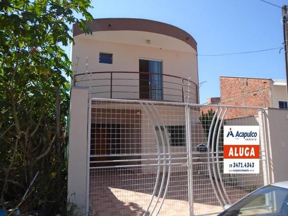 Casa Para Aluguel, 3 Quartos, 3 Vagas, Jardim Boer I - Americana/sp - 4149