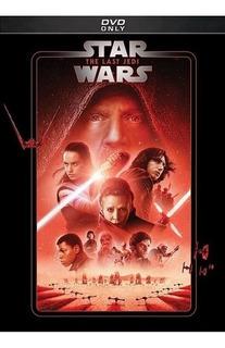 Dvd Star Wars Episodio Vill El Último Jedi