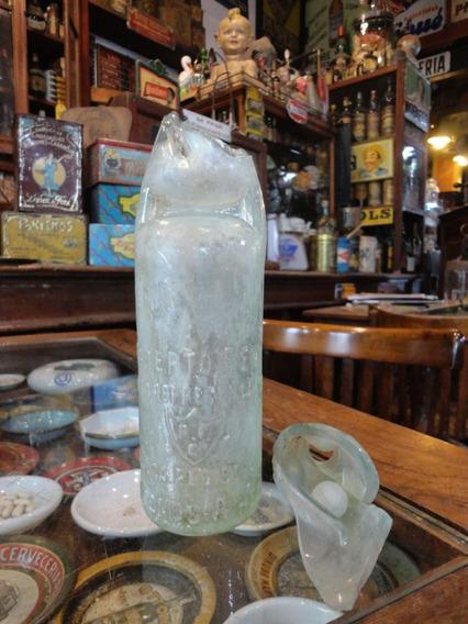 Antigua Botella De Gaseosa Bolita Roberto F. Enz Bs As 25533