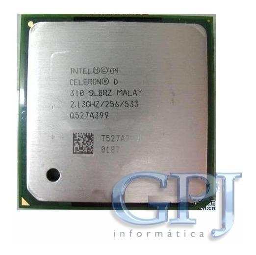 Processador Intel Celeron 478 D310 2.13ghz Oem