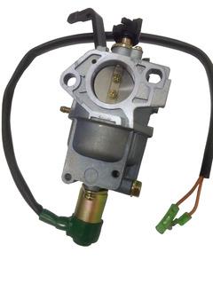 Carburador Generador 11 / 18 Hp Cebador Plastico Solenoide