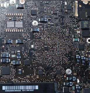 Macbook Pro A1278 Motherboard Con Falla Iluminación.