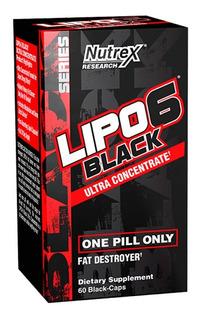 Lipo 6 Black Uc Ultra Concentrado 60 Cap - Nutrex