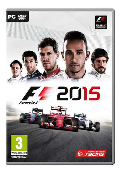 F1 2015 Steam Cd Key Original