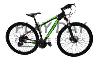 Bicicleta Mountain Bike Kawasaki Kht Pro Rodado 29 Bloqueo