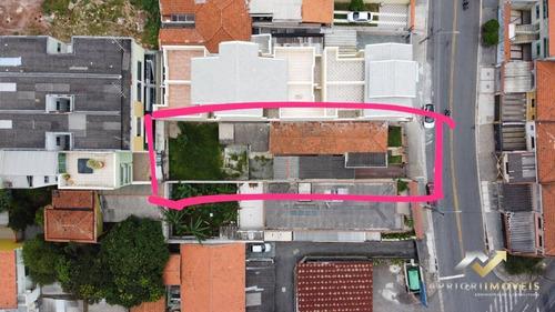Terreno À Venda, 400 M² Por R$ 999.000,00 - Vila Pires - Santo André/sp - Te0044