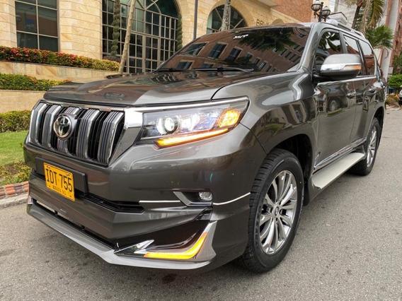 Toyota Prado Tx Blindada Con Cara 2020 Diésel 7 Puestos 2015