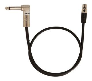 Shure Wa304 Cable De Instrumento Plug Angular A Tqg Bodypack