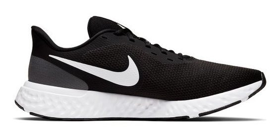 Tênis Nike Revolution 5 Masculino - Preto E Branco