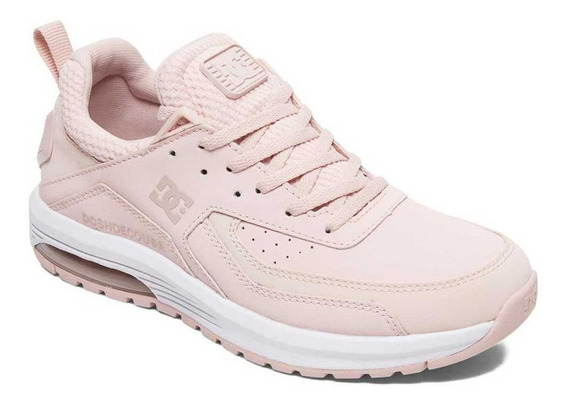 Tenis Para Dama Vandium Dc Shoes Color Rosa