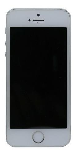 iPhone 5s 16gb Prata A1533 Bateria 90% Sem Acessorios A12685