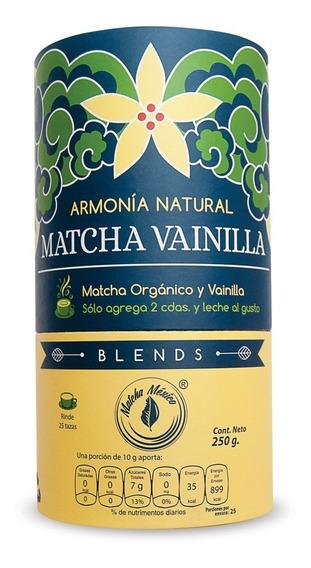 Matcha Con Vainilla 250g - Bajo En Azúcares Vegano 20 Tazas