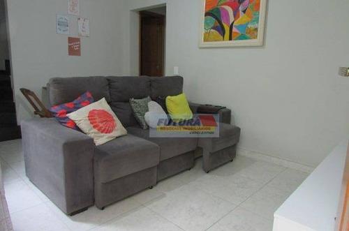 Imagem 1 de 28 de Casa Com 2 Dormitórios À Venda, 54 M² Por R$ 260.000,00 - Vila Cascatinha - São Vicente/sp - Ca0440