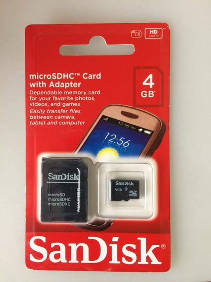 Kit C/10 Micro Cartão 4g Sandisk
