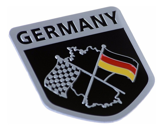 Emblema Germany Alemanha Racing Vw Jetta Golf Gol Fox Bmw