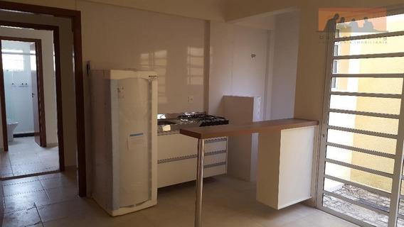 Kitnet Com 1 Dormitório Para Alugar, 33 M² Por R$ 1.350,00/mês - Cidade Universitária - Campinas/sp - Kn0439