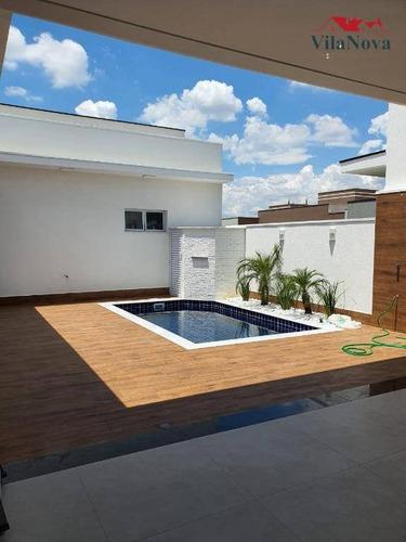 Casa Com 3 Dormitórios À Venda, 190 M² Por R$ 1.225.000,00 - Condomínio Maria Dulce - Indaiatuba/sp - Ca1734