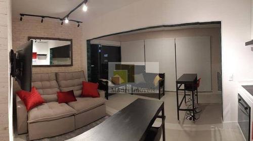 1 Dorm 45m² Mobiliado -  Vila Madalena. - Ap1977