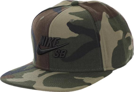 Gorra Nike Sb Icon Pro Camuflada Importada 100% Original