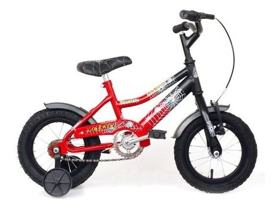 Bicicleta Piruetas R12 Rueda Inflable Liberty Ploppy 126008