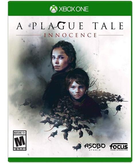 A Plague Tale Innocence Xbox One Mídia Física Novo Lacrado