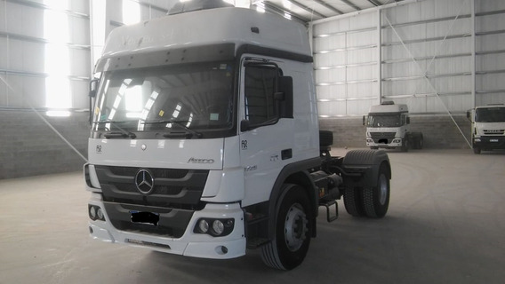 Mercedes Benz Atego 1726 S36 Cabina Doble - Techo Elevado