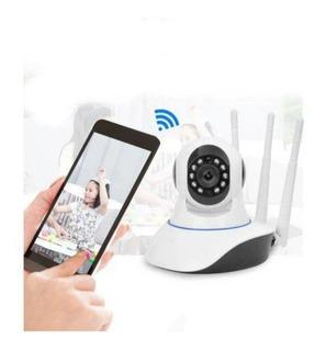 Camara 3 Antenas Wifi Seguridad Casa U Oficina