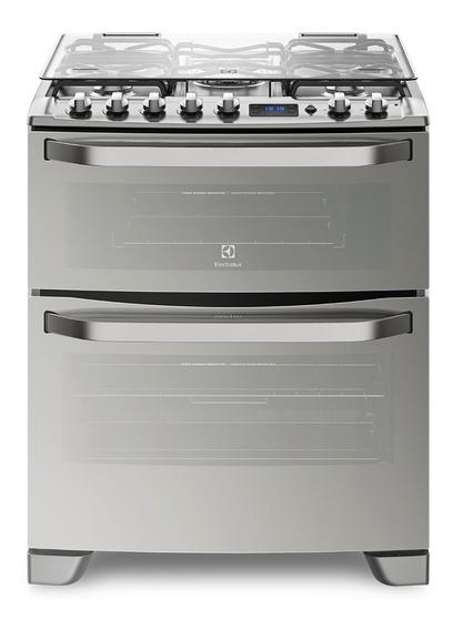 Cocina Doble Horno Gas-gas Electrolux 76xdr