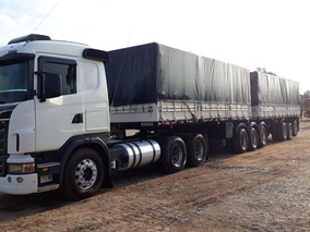 Scania G420 6x4 2010 + Bitrenzão 3x3 Randon 2000