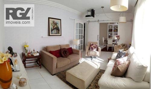 Apartamento À Venda, 93 M² Por R$ 599.000,00 - Boqueirão - Santos/sp - Ap7071