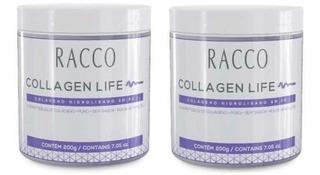 Colágeno Hidrolisado Peptideos Racco Tipo 1, 2 E 3 (2 Potes)