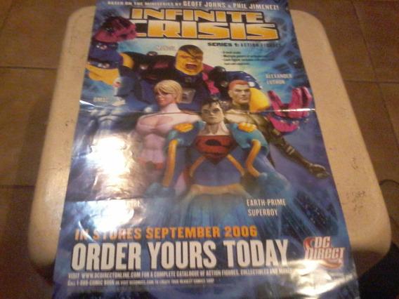 Dos Posters Universo Dc Infinity Crisis Y Batman 10c!!
