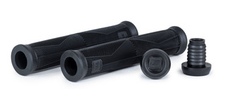 Puños Wethepeople Bmx Remote Grips ¡con Bar Ends Pro! Negros