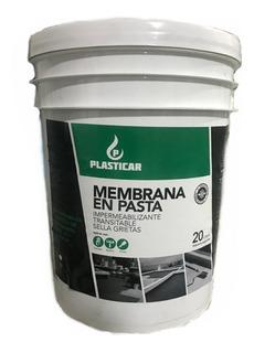 Membrana Liquida En Pasta Techos Premium 20 Lts Plasticar