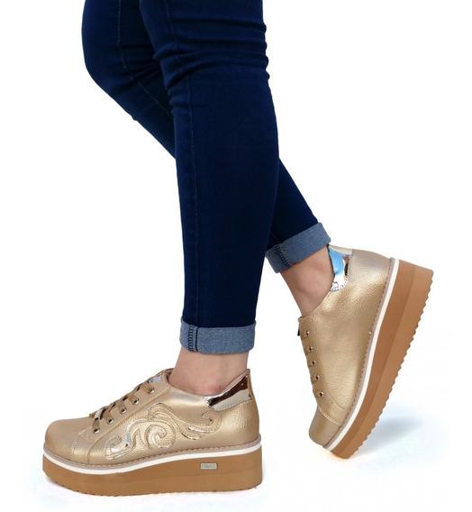 Zapatillas Mujer Plataforma Urbanas Sneakers Moda - Art. 850