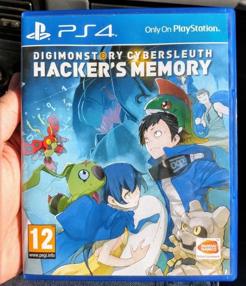 Digimon Story Cyber Sleuth Hackers Mem Ps4 Midia Fisica Semi