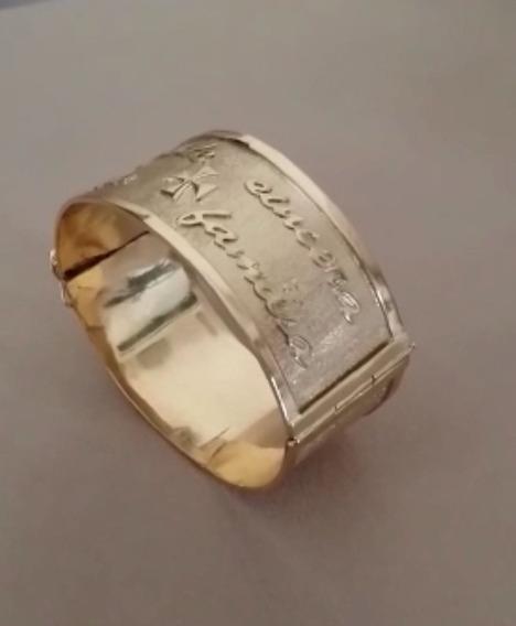 Bracelete Super Luxo Imperial Em Ouro 18k