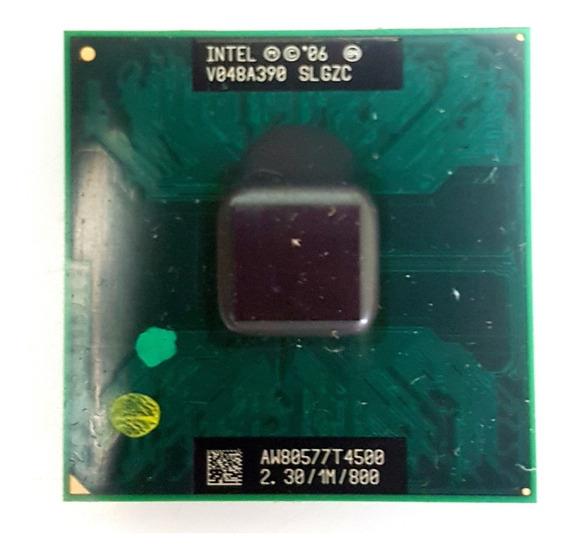 Processador Intel Dual Core Slgzc 2.30 1m 800 Aw80577t4500