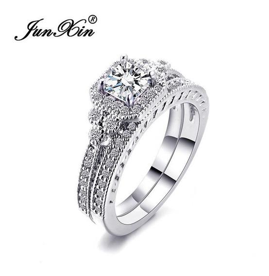 Joalheria, Anel Aliança, Composto, White Sapphire Wedding