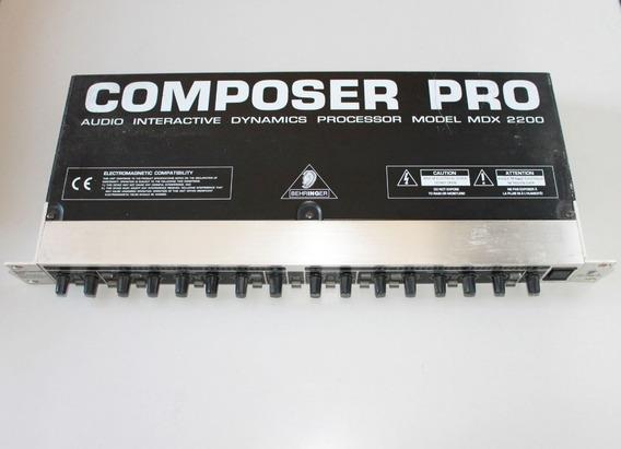 Behringer Composer Pro Mdx 2200 - Expander Gate Compressor
