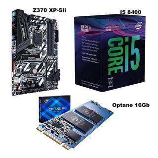 Vendo Combo Usado, Z-370+i5 8400+optane 16gb