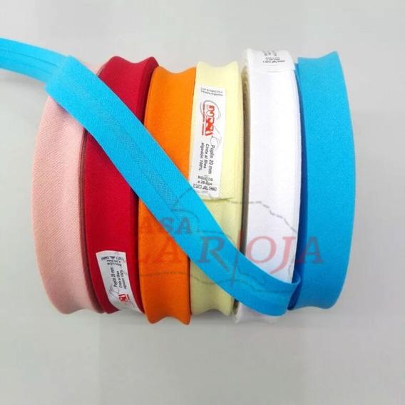Cinta Al Bies Dorsa 20mm Rollo 25mts X 2 Rollos ¡52 Colores!