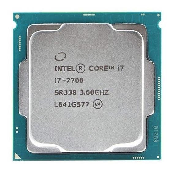 Processador gamer Intel Core i7-7700 CM8067702868314 de 4 núcleos e 4.2GHz de frequência com gráfica integrada