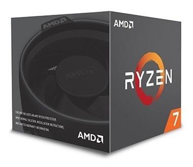 Processador Amd Ryzen R7-2700 4,1ghz Am4 16mb Cache Yd2700bb