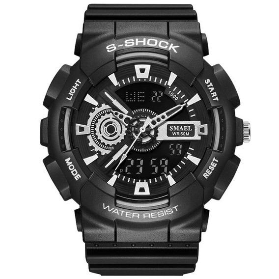 Relógio Esportivo Masculino Smael 1027b Frete Grátis