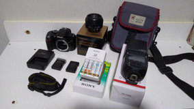 Câmera Nikon 5200 + Acessórios