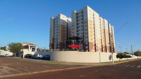 Apartamento Com 2 Dormitórios Para Alugar, 55 M² Por R$ 900/mês - Residencial Dona Margarida - Santa Bárbara D