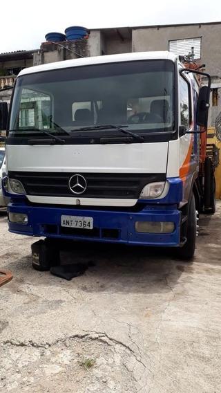 Mercedes-benz Atego 1418 Reduzido -ano 2006 - Toco - Munck