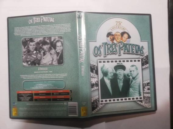 Dvd Três Patetas Pacote 4 Filme Frete Grátis Brasil Promoção